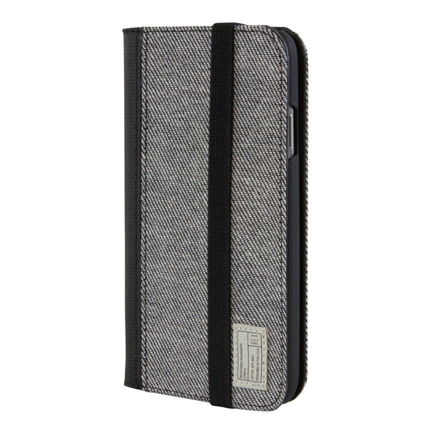 Hex: Icon Wallet for Samsung Galaxy S4 - Grey Denim (HX1507)