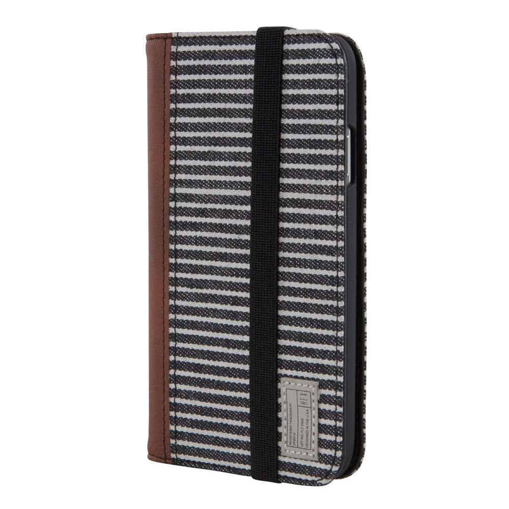 Hex: Icon Wallet for Samsung Galaxy S4 - Black / Grey (HX1507)
