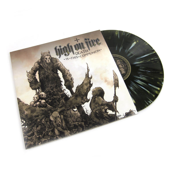 High On Fire: Death Is This Communion (Colored Vinyl) Vinyl 2LP