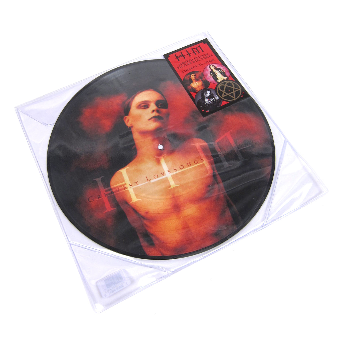 HIM: Greatest Love Songs Vol.666 (Pic Disc) Vinyl LP