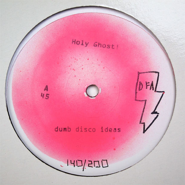 "Holy Ghost: Dumb Disco Ideas (White Label Version) 12"" 2"