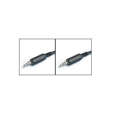 Hosa: Single 3.5mm (Male) to Single 3.5mm (Male) Cable, 3ft (CMM-103)