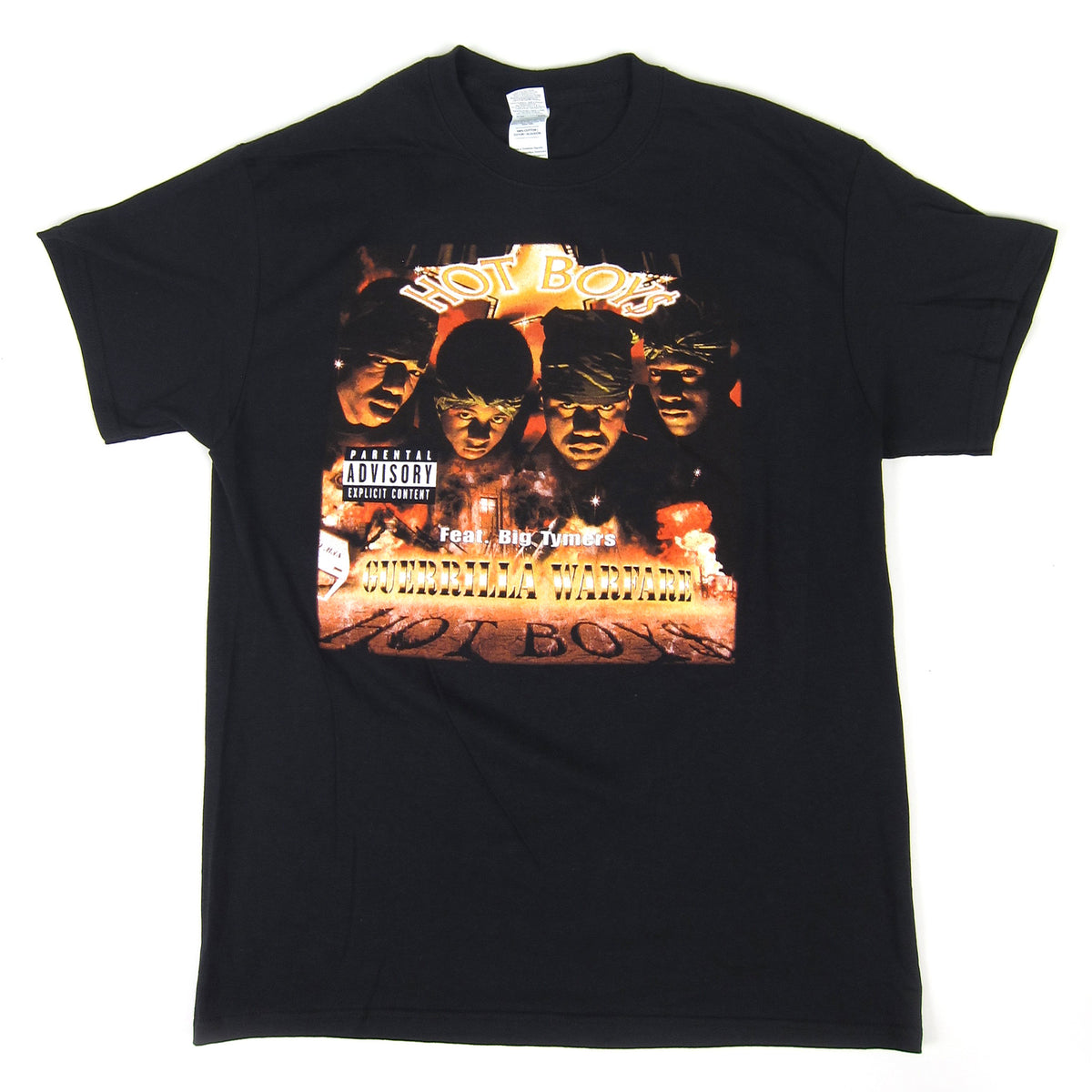 Hot Boys: Guerrilla Warfare Shirt - Black