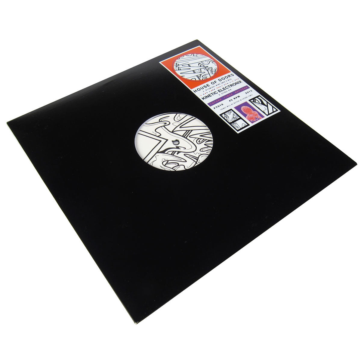House Of Doors / Kinetic Electronix: Bicameral Mind (Max D Mix) / Astral Kin Vinyl 12""