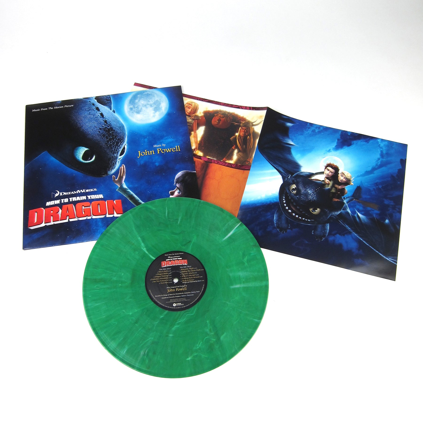 John powell how to train your dragon lp turntablelab john powell how to train your dragon 180g colored vinyl vinyl lp ccuart Image collections