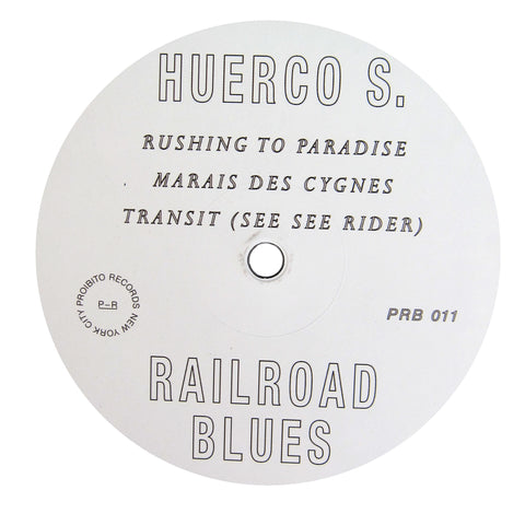 Huerco S.: Railroad Blues Vinyl 12""