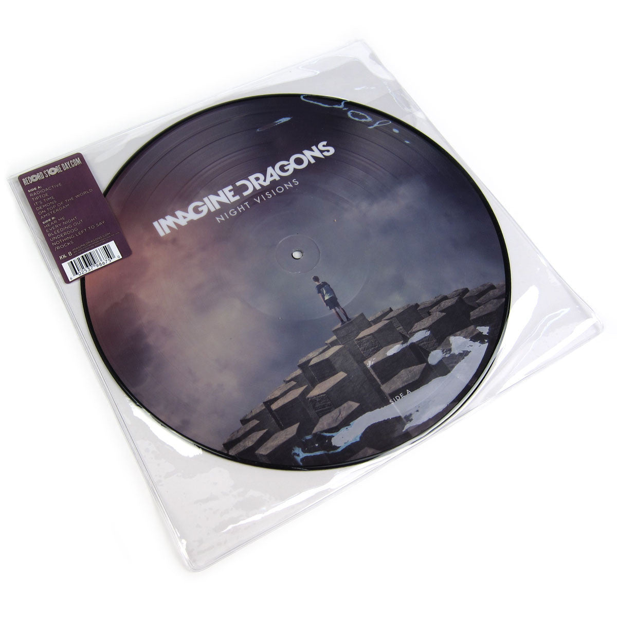 Imagine Dragons : Night Visions (Picture Disc) Vinyl LP (Record Store Day)