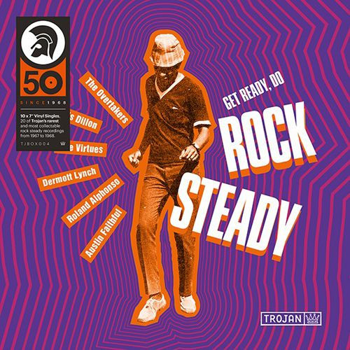 "Trojan Records: Get Ready, Do Rock Steady Vinyl 10x7"" Boxset (Record Store Day)"