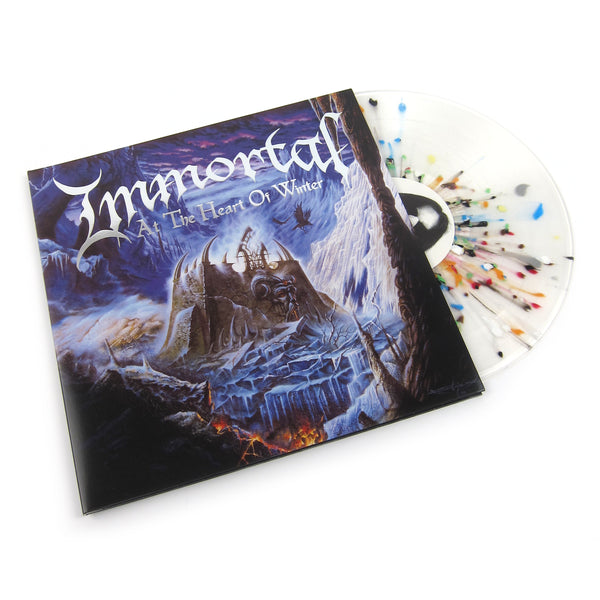 Immortal: At The Heart Of Winter (Colored Vinyl) Vinyl LP