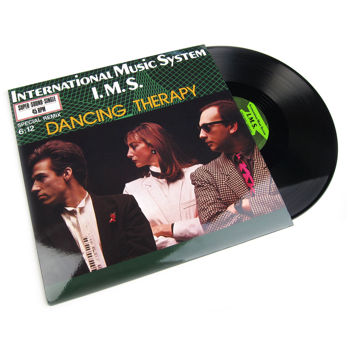 International Music System I.M.S.: Dancing Therapy Vinyl 12""