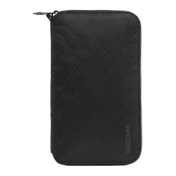 Incase: Travel Passport Zip Wallet - Diamond Wire Black (CL90022)