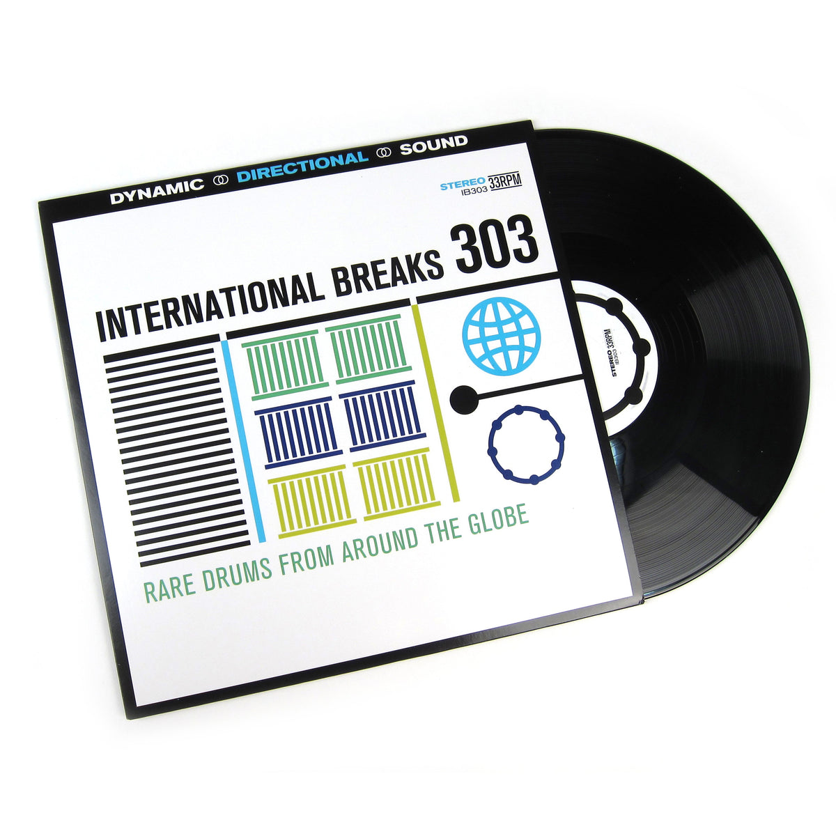 International Breaks Inc: International Breaks 303 - Rare Breaks From Around The Globe Vinyl LP