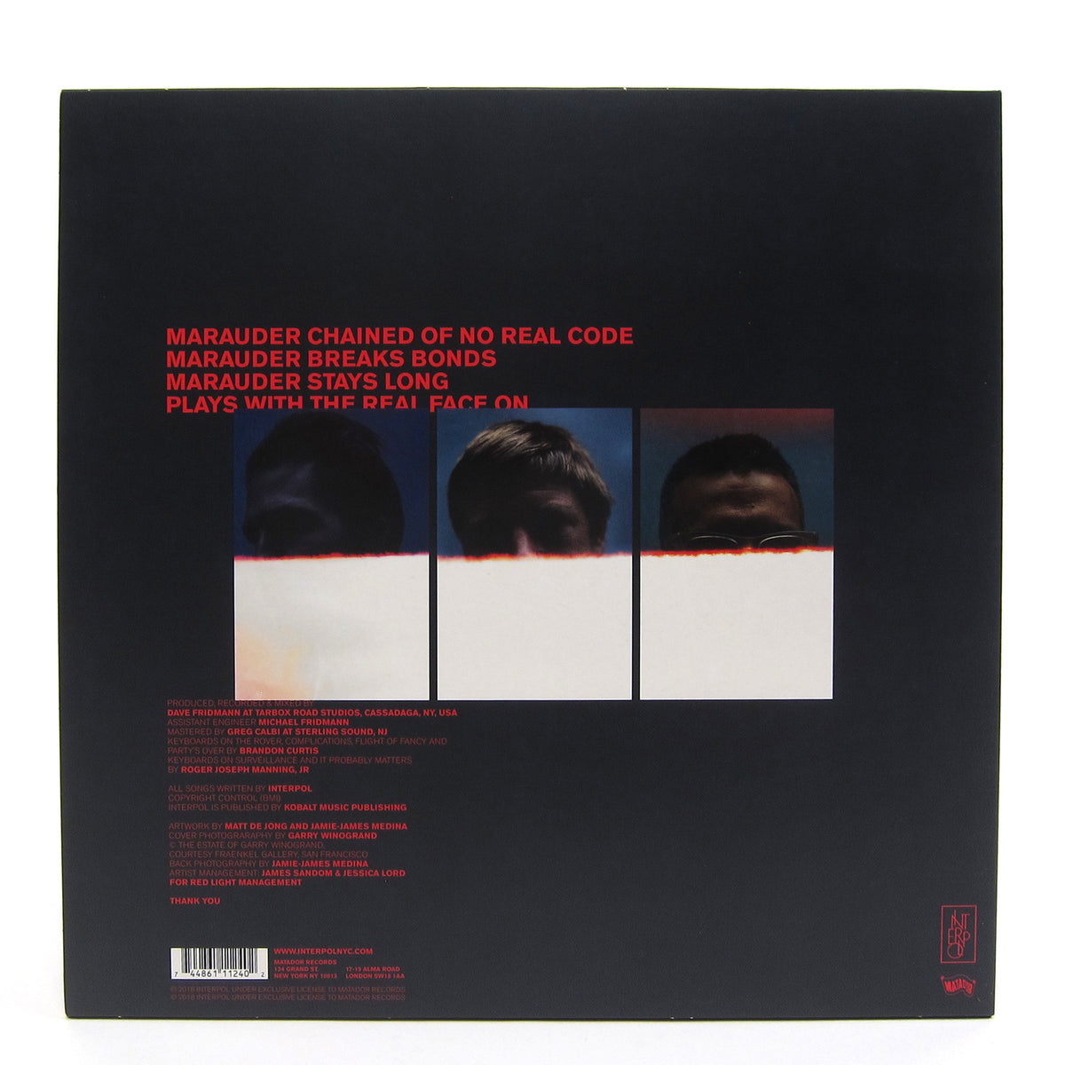 Interpol: Marauder (Indie Exclusive Colored Vinyl) Vinyl LP