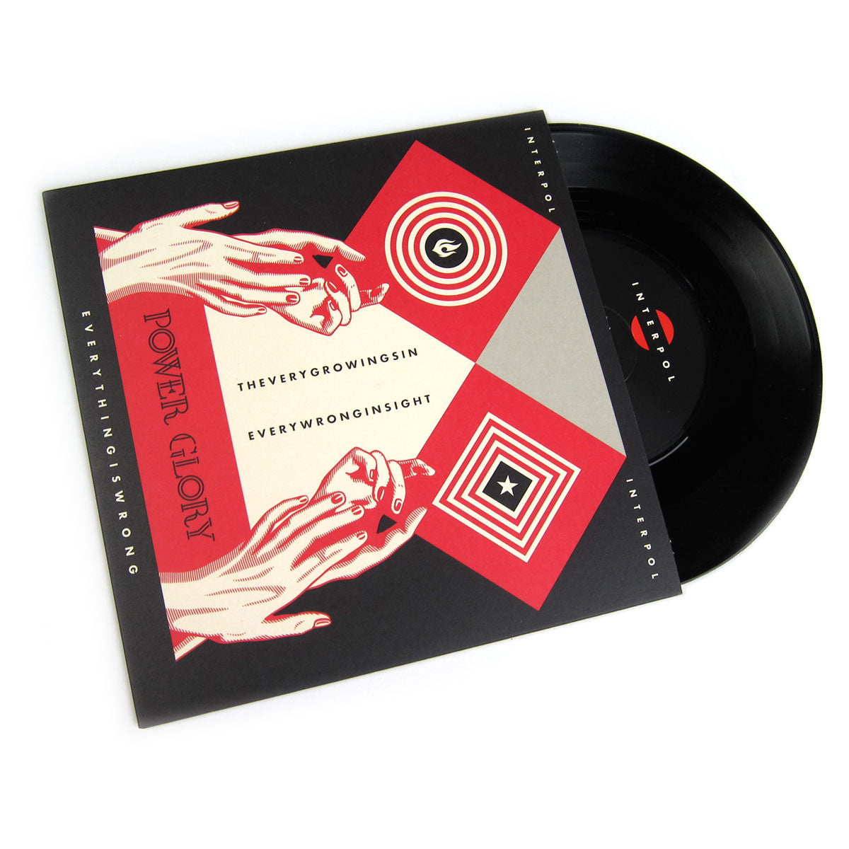 "Interpol: Everything Is Wrong / What Is What Vinyl 7"" (Record Store Day)"