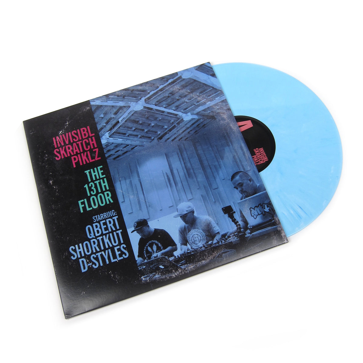 Invisibl Skratch Piklz: The 13th Floor (Baby Blue Colored Vinyl) Vinyl 2LP