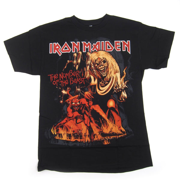 Iron Maiden: Number Of The Beast Shirt - Black