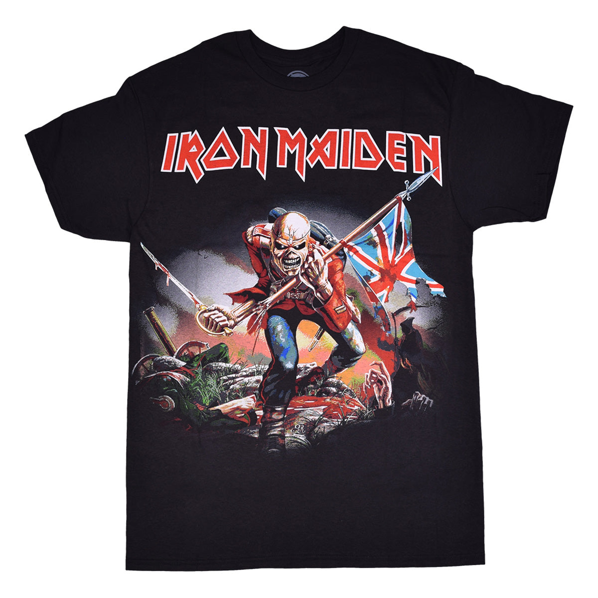 Iron Maiden: The Trooper Shirt - Black
