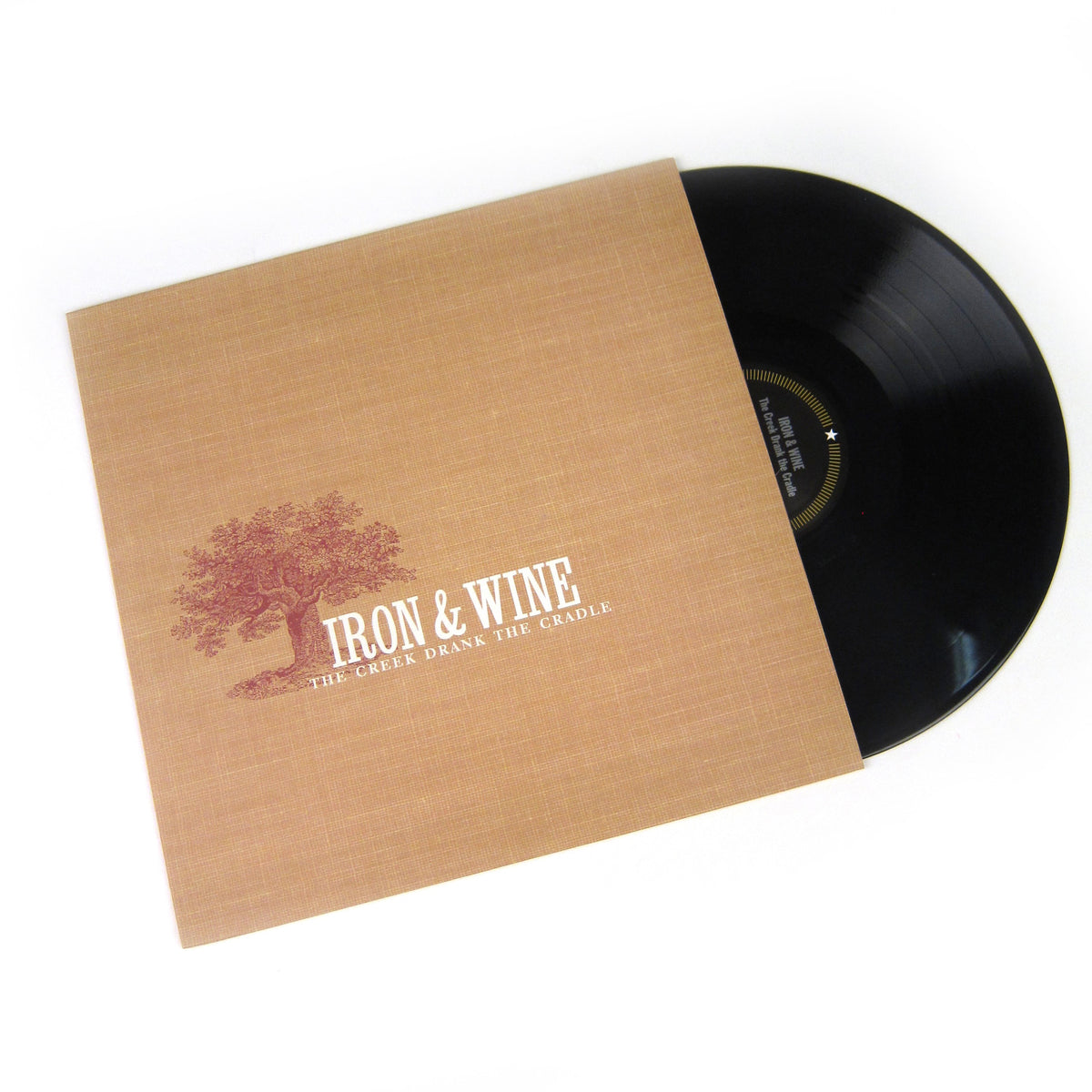 Iron and Wine: The Creek Drank The Cradle Vinyl LP
