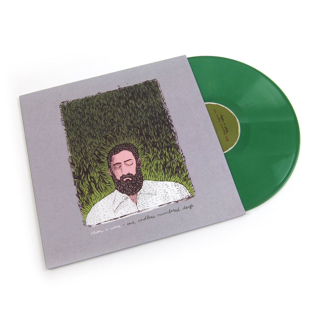 Iron and Wine: Our Endless Numbered Days Deluxe (Loser Edition Colored Vinyl) Vinyl 2LP