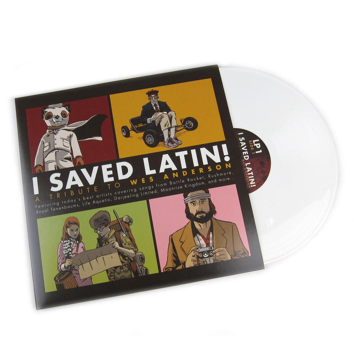 American Laundromat Records: I Saved Latin! - A Tribute To Wes Anderson (Colored Vinyl) Vinyl 2LP