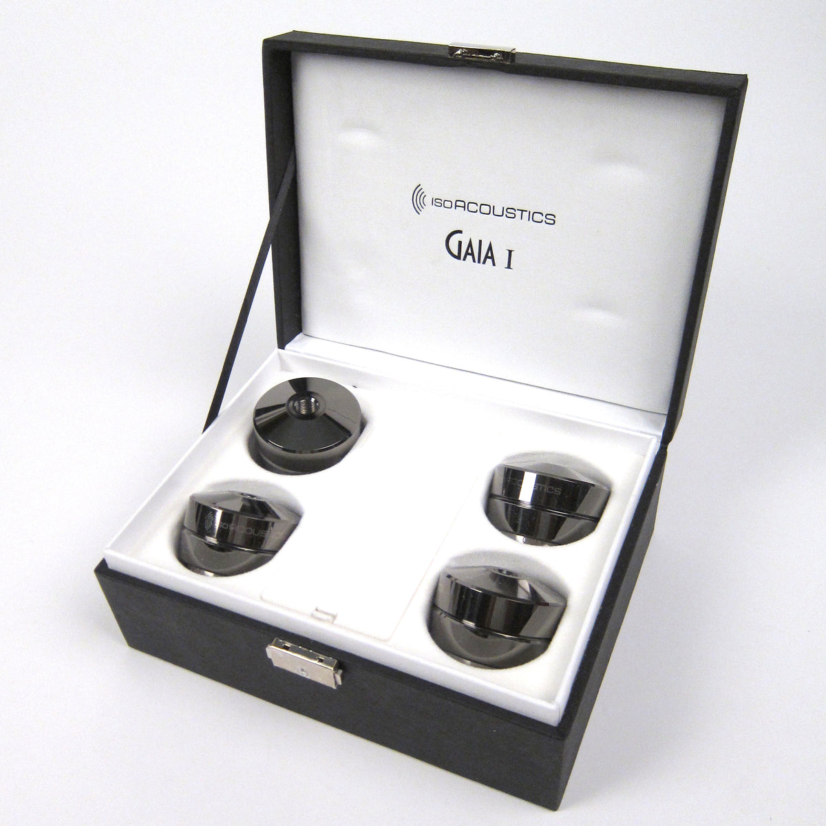 IsoAcoustics: GAIA I Speaker Feet - Dark Chrome (4 Pack)