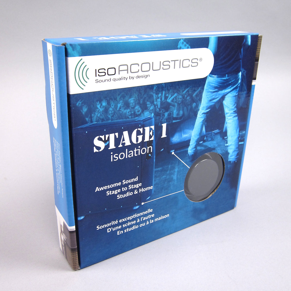 IsoAcoustics: STAGE 1 Isolators for Guitar Amps + Cabinets (4 Pack)