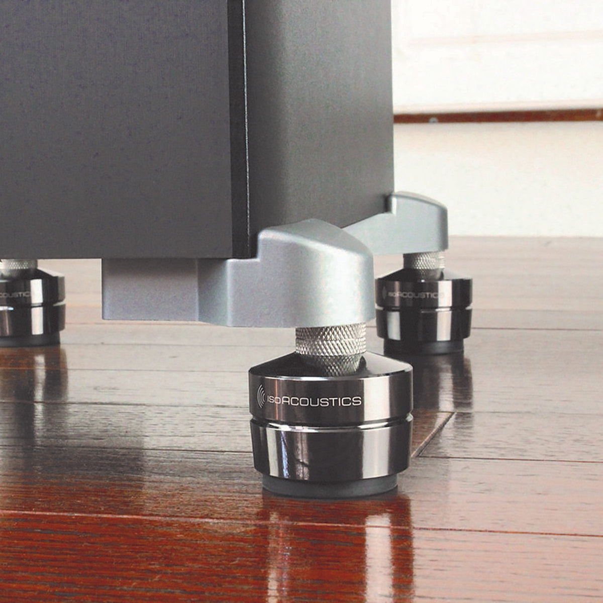 IsoAcoustics: GAIA III Speaker Feet - Dark Chrome (4 Pack)