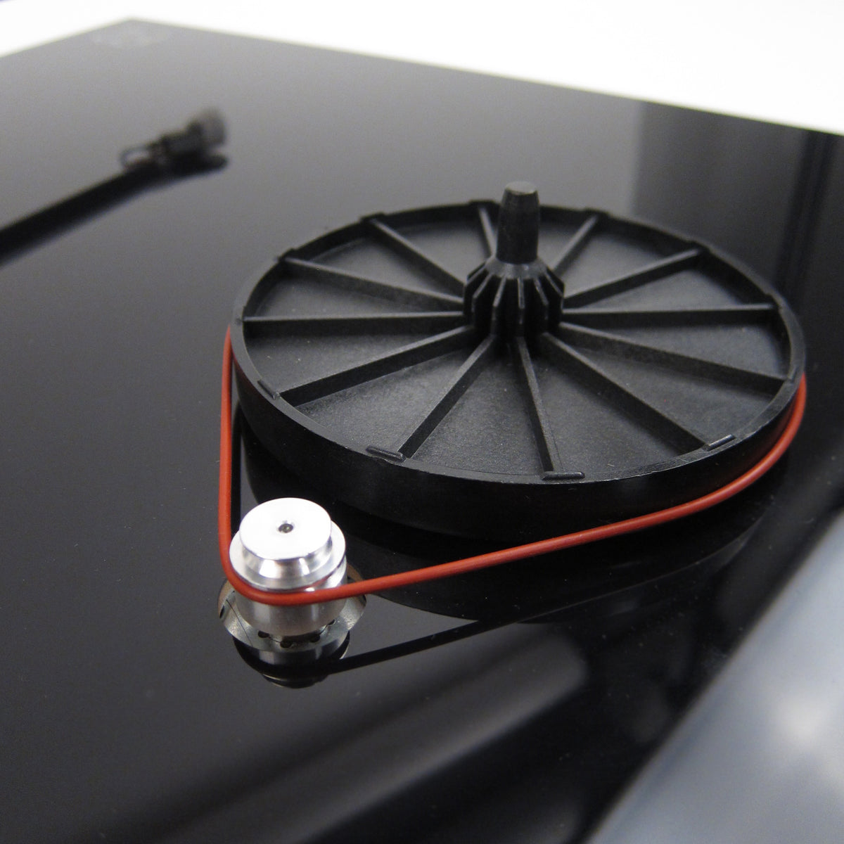 Rega: Little Red Thing Silicone Turntable Belt Upgrade by ISOkinetik