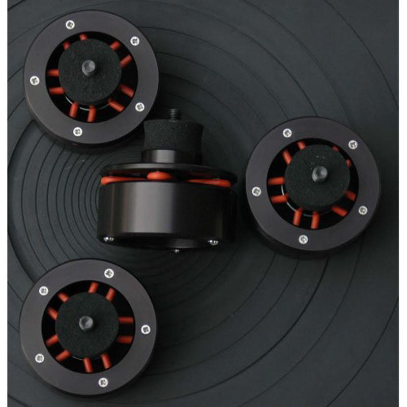 Isonoe: Isolation System - Turntable Feet (4 Units) - Black 3
