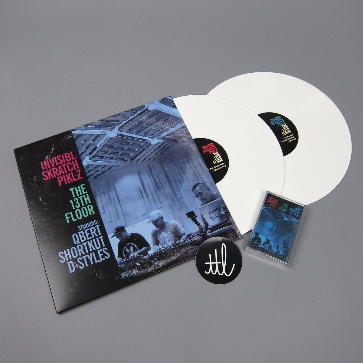 Invisibl Skratch Piklz: The 13th Floor (Colored Vinyl) Vinyl 2LP+Cassette