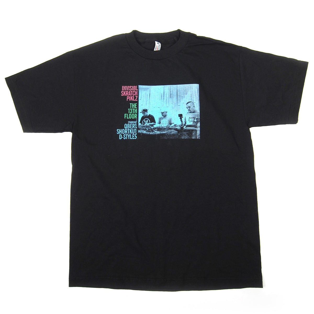Invisibl Skratch Piklz: The 13th Floor Album Shirt - Black