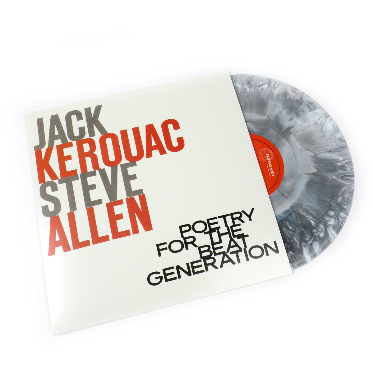 Jack Kerouac & Steve Allen: Poetry for the Beat Generation (Colored Vinyl) Vinyl LP