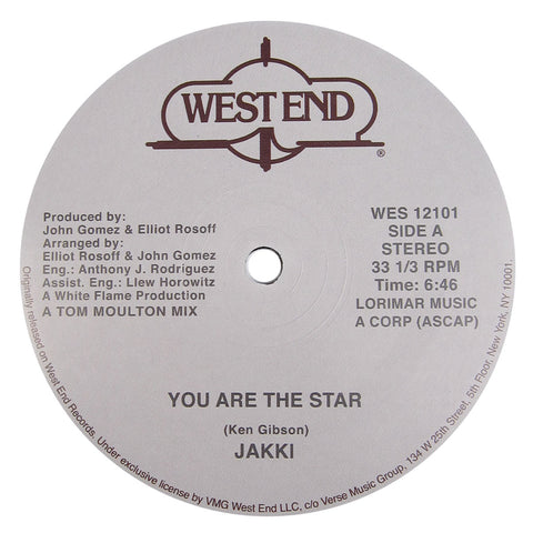 Jakki / Sounds Of Inner City: You Are The Star / Mary Hartman, Mary Hartman (Tom Moulton) Vinyl 12""