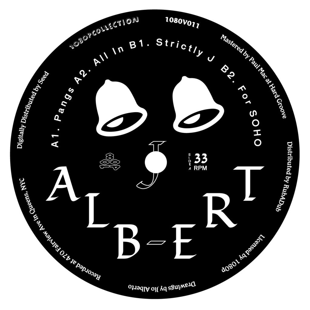 J. Albert: Strictly J Vinyl 12""