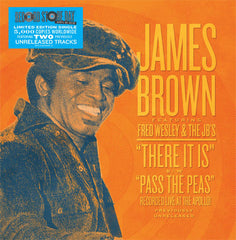 James Brown: There It Is / Pass the Peas (Apollo Versions, Record Store Day) 7""