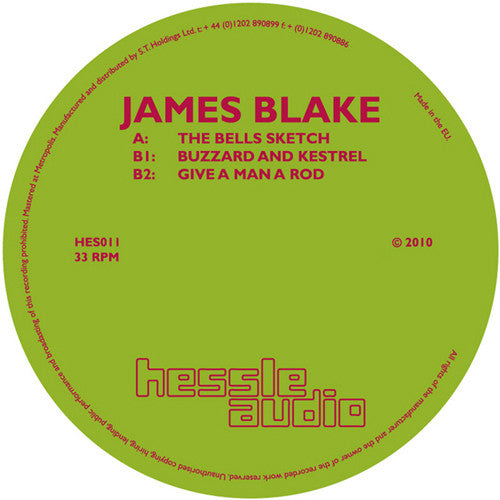 James Blake: The Bells Sketch 12""