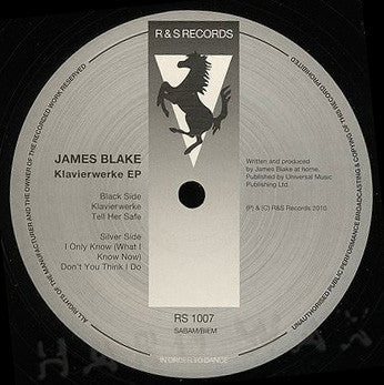 James Blake: Klavierwerke EP