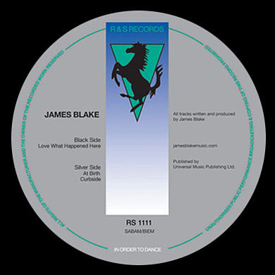 James Blake: Love What Happened Here 12""