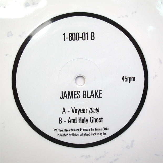 James Blake: Voyeur Dub (Colored Vinyl) 12""