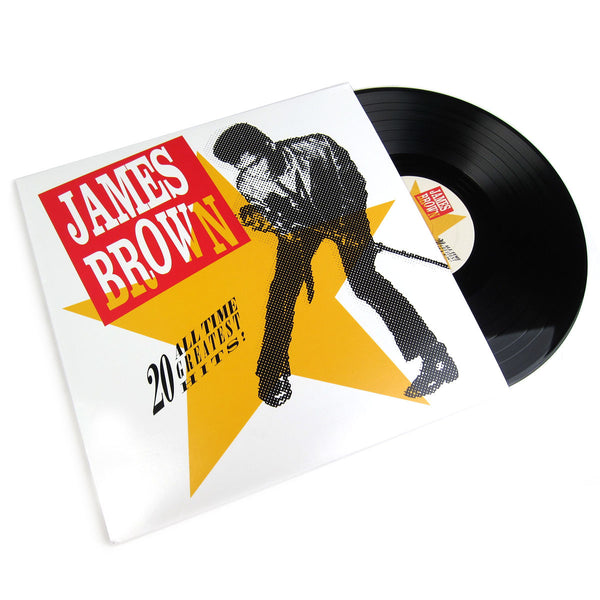 James Brown 20 All Time Greatest Hits Vinyl 2lp