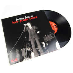 James Brown: Love Power Peace Vinyl 3LP