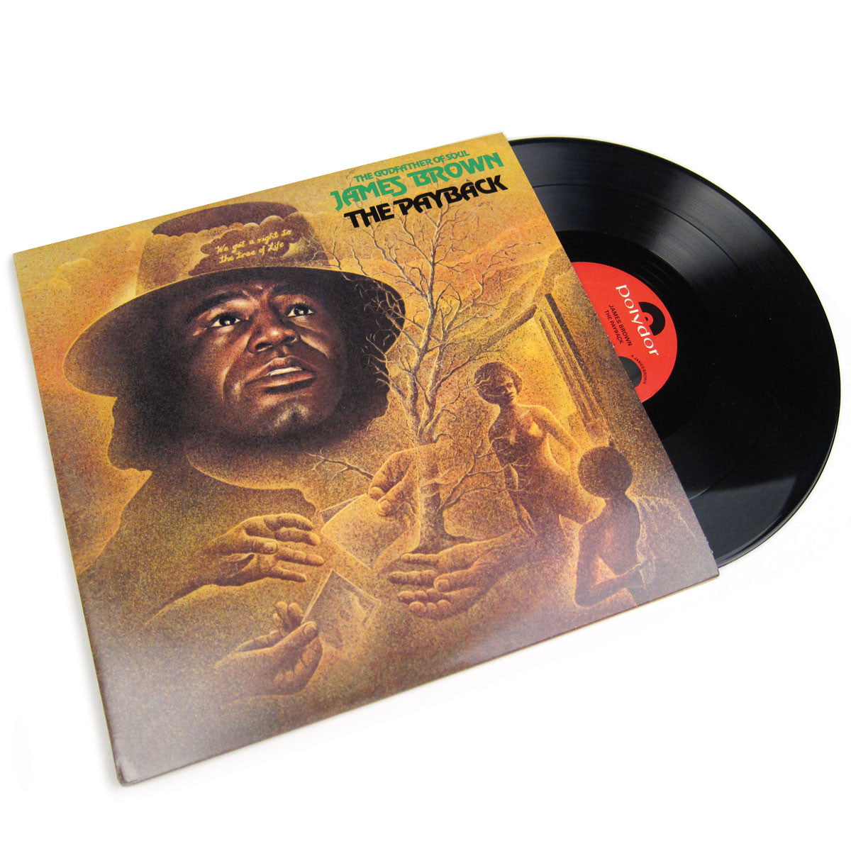 James Brown: The Payback Vinyl 2LP