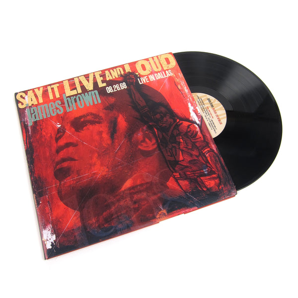 James Brown: Say It Live And Loud - Live In Dallas Vinyl 2LP