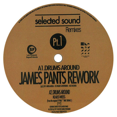 James Pants & Tom Noble: Selected Sound Remixes Pt.1 (Klaus Weiss) EP