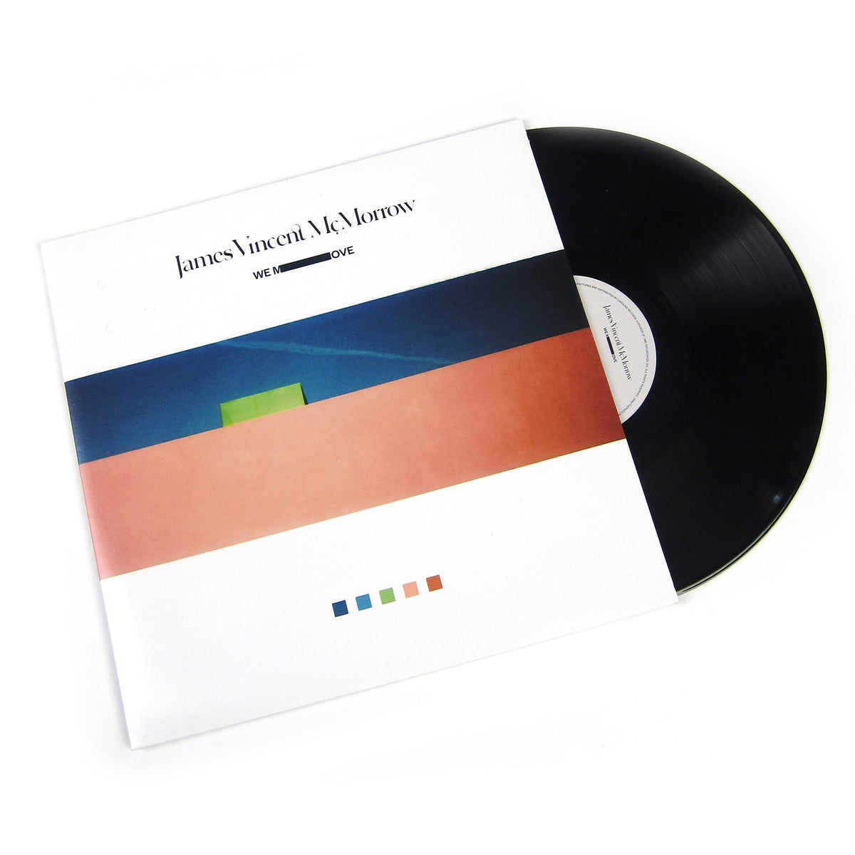 James Vincent McMorrow: We Move Vinyl LP