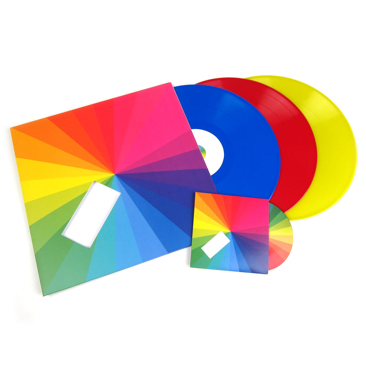 Jamie xx: In Colour (Deluxe Edition Colored Vinyl) Vinyl 3LP - PRE-ORDER