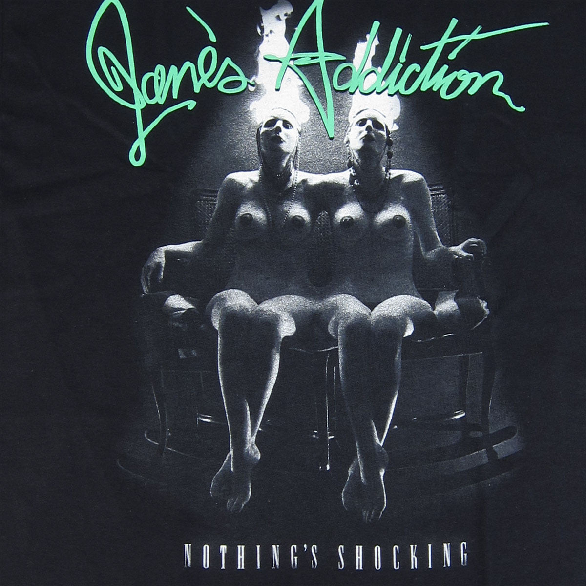 Janes Addiction: Nothing Shocking Shirt - Black detail