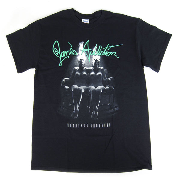 Janes Addiction: Nothing Shocking Shirt - Black