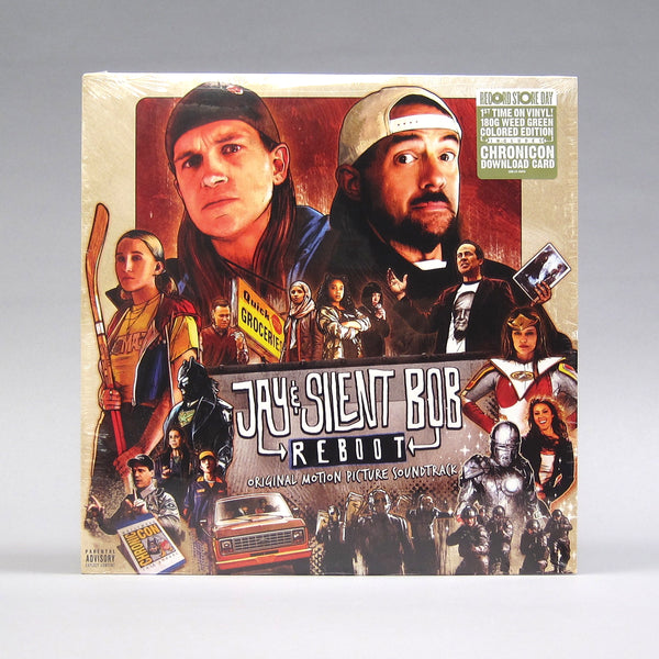 Various Artists: Jay & Silent Bob Reboot Original Soundtrack (180g, Colored Vinyl) Vinyl LP (Record Store Day)