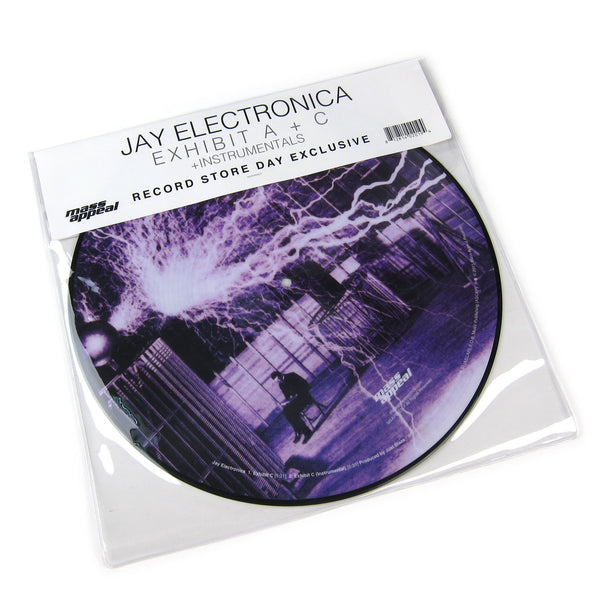 "Jay Electronica: Exhibit A + C + Instrumentals (Pic Disc) Vinyl 12"" (Record Store Day)"